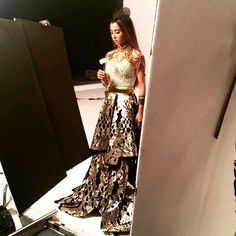 "TEX SAVERIO no Instagram: ""BEST OF 2015 #SaverioSquad Mandopop Queen #JolinCai in #TexSaverio Skirt and #RinaldyAYunardi Headpiece for her World Tour Cover Shoot #SaverioStars #SaverioStatement #TexTakesAsia"""