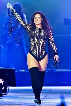 Demi Lovato in Dubai 2017