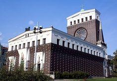 Jože Plečnik, Sacred Heart of Jesus Church, Prague, 1939