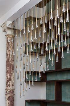 Inspiracje w moim mieszkaniu {Inspiration in my apartment}: Motyw deszczu we wnętrzach/ Theme of rain in the i...