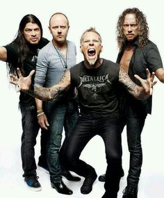 """#ReadingandLeeds Festivals have announced #Metallica as the first headliners for 2015. The band's James Hetfield, Kirk Hammett, Lars Ulrich and Rob Trujillo will take to the Main Stage next August Bank Holiday Weekend. They return to the headline spot for a record fourth time in 2015, having first headlined Reading Festival 18 years ago. Metallica's Lars Ulrich, says the band are """"beyond thrilled"""" to be headlining Reading and Leeds Festivals. (Notes: Tickets are on sale now). Posted on…"""