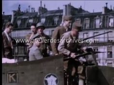 Libération de Paris en vrai couleur (Reddition allemande)