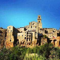 "Pitigliano the famous town of ""Tufo"" stone #maremma  We  Maremma #pitigliano #cittadeltufo #tuscany #italy #borghitalia #borghipiubelliditalia #wonderful #place #placetobe #instadaily  #instatravel #instagood #instamood #instacool #instalove #igers #igersitalia #italia #love #toscana #iloveyou #chiantilife  Photo credit: @dadido77"