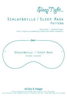 Schlafbrille / Sleep Mask