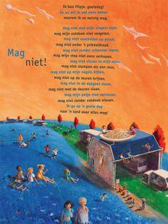 Aan de muur - Poëzieposters - poëzieposter Mag niet! Charlotte Smulders - Plint