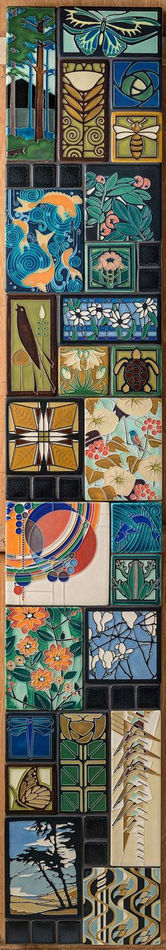 Motawi Polychrome Collage. Why pick just one when you can have them all?