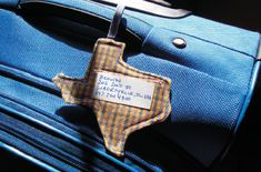 Texas Luggage tag!