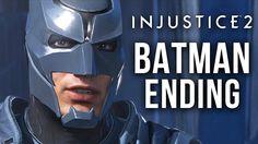 BATMAN ENDING (Good Ending) Injustice 2