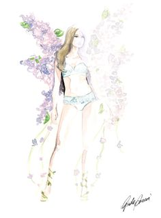 "Victoria's Secret - ""Angels in Bloom"" Collection 01"
