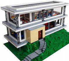 Modern House: A LEGO® creation by Joaquín Cantolla : MOCpages.com