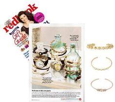 Metal Cuff Rose Gold Bracelet | Pave Triangle Cuff | Stella & Dot