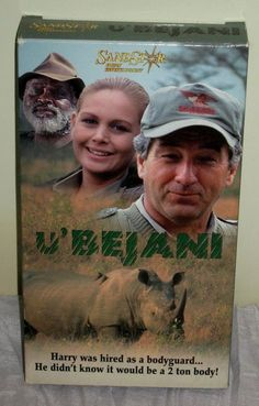VHS U'BEJANI SandStar Family Entertainment Wayne Crawford Diana Tilden-Davis#EN5