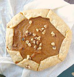 simple pumpkin pie galette recipe
