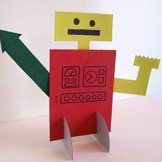 Cute cardboard activity to do with kids