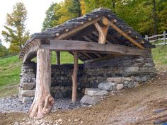 Blacksmith shop - Permaculture is alignment with nature See Timber Frame and Stone Pavilion Blacksmith area Children's play area Garden Setting Animal manger Hogan Sheep Shed Garden beauty - theunreyna