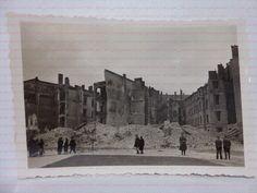 A034 Foto 2WK zerstörtes Warschau Warszawa Polen | eBay