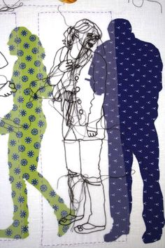 patternprints journal: PATTERNS IN TEXTILE WORKS BY ROSIE JAMES
