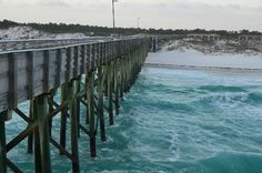 St. Andrews State Park: Fishing Pier, St Andrews State Park . Got married beside this pier.