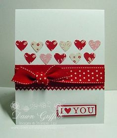 I {Heart} You ... (Dawns stamping thoughts Stampin'Up! Demonstrator Stamping Videos Stamp Workshop Classes Scissor Charms Paper Crafts)