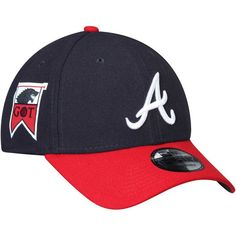 official photos 04577 9ce11 Men s Atlanta Braves New Era Navy Red Game of Thrones 9FORTY Adjustable Hat,   29.99