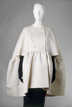 Cape  Cristobal Balenciaga, 1963  The Victoria & Albert Museum