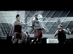 Best most inspiring video ever! You are on the line between breaking point and breaking through - 2012 Powerade Olympics POWER THROUGH TV Commercial