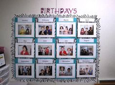 Attractive Birthday Bulletin Board Ideas - http://spaceshipsla.com/attractive-birthday-bulletin-board-ideas/ : #KidsBirthdays Setting the birthday bulletin board ideas for the classroom would be really interesting. It might be used to remind the students' birthday. Well, if you and friends are getting confused to find for the right theme of the attractive birthday bulletin boards, you should not worry! Let's decorate th...