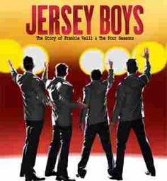 JERSEY BOYS January 6-11, 2015 Salle Wilfrid-Pelletier, Place-des-Arts, Montreal. The story of four young men from the wrong side of the tracks in New Jersey who came together to form the iconic 1960s rock group The Four Seasons.