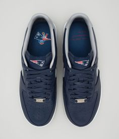 Nike Lunar Force 1 Low x New England Patriots