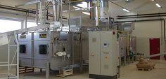 Uscator de joasa temperatura cu banda pentru alimente si hrana animalelor  • pentru a usca pulpa de sfecla de zahar, malt de secara, CCM; • program de comanda pentru uscatoare cu (1-, 2-, 3- sau instalatii cu mai