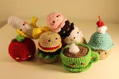 ¡¿...de Iaies?!: Let's Crochet: Amigurumi Food