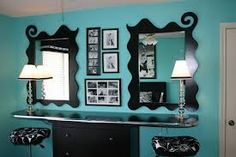 Love this idea undead of a desk & vanity.