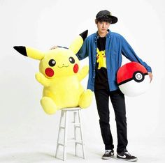 Jung joon young and pikachu