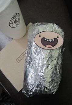 Chipotle and Adventure Time?