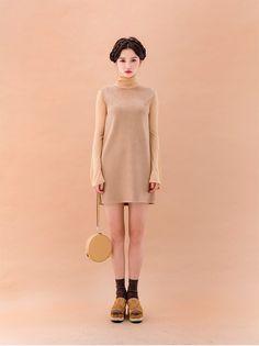 スエードライクワンピース - 《公式》Chuu(チュー)レディースファッション通販!