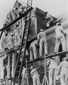 Architect Tim Andersen's advice in preparing to renovate your house. 1930s House, Fixer Upper, Statue, House Painters, Image, Home, Ad Home, Homes, Haus