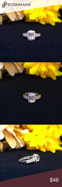 Kunzite, White Topaz Platinum Over St Silver Ring OFFERS WELCOME!!                               Finish - Platinum Overlay Gemstone Count - 33 Gemstone Minimum Weight(Carats) - 2.150 Total Stone Weight (Carat) - 1.350 Gemstone 1 - White Kunzite Cushion 7x5 Faceted Gemstone Count 1 - 1 Gemstone Weight 1 - 0.900 Gemstone 2 - White Topaz Round 1.5 Gemstone Count 2 - 12 Gemstone Weight 2 - 0.250 Gemstone 3 - White Topaz Round 1.1 Faceted Gemstone Count 3 - 20 Gemstone Weight 3 - 0.200 Primary…