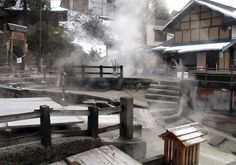 Onsen - he meets Midorikawa at a creepy remote mountain onsen, could show overlays in steam etc. - where could we film this? Mornington?