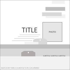12x12 layout sketch - one photo