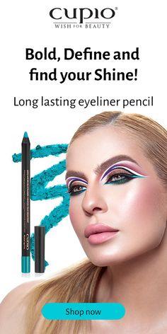 Un make-up irezistibil și o privire plină de intensitate? Yes, please! Creează-ți linia de tuș perfect definită sau difuză cu noile creioane de ochi waterproof! Sunt cremoase și se aplică foarte ușor.  🛒Alege-ți nuanțele perfecte pentru tine!  #CupioBeauty #CupioMakeUp Goth Makeup, Eye Makeup, Long Lasting Eyeliner, Ink Transfer, Pigmentation, Makeup For Green Eyes, Waterproof Eyeliner, Pencil Eyeliner, Beauty Make Up