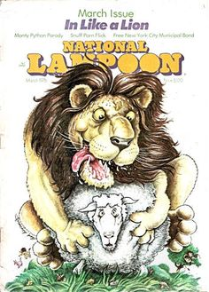 National Lampoon Magazine, American Humor, Mad Magazine, National Lampoons, Book Illustration, Illustrations, Vintage Magazines, Books To Buy, Comic Strips