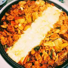 Yummy Chicken Recipes, Easy Delicious Recipes, Yum Yum Chicken, Yummy Food, Korean Dishes, Korean Food, Wine Recipes, Asian Recipes, Ethnic Recipes