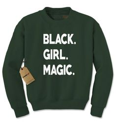 f212fa8cb12 Black Girl Magic Adult Crewneck Sweatshirt