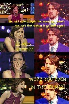 Emma fails Potter test