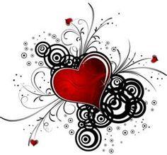Heart scroll