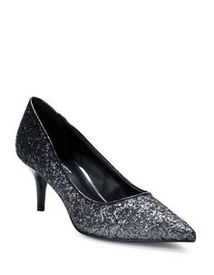 Brands | Party & Evening | Xeena Glitter Pumps | Lord and Taylor