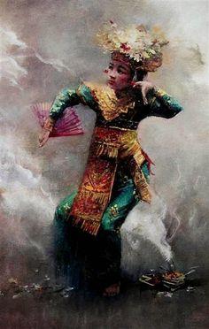 Rustamadji - Penari Bali
