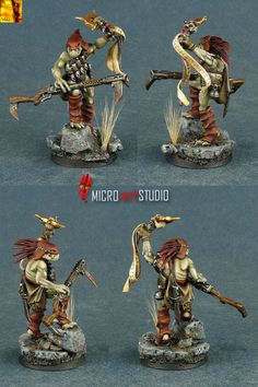 Kroot Shaper painted by MiG