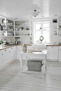 35 Elegant White Kitchen Cabinet Remodel & Design Ideas
