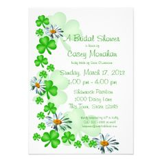 >>>The best place          Shamrocks and Daisies Bridal Shower Personalized Announcements           Shamrocks and Daisies Bridal Shower Personalized Announcements we are given they also recommend where is the best to buyHow to          Shamrocks and Daisies Bridal Shower Personalized Announ...Cleck Hot Deals >>> http://www.zazzle.com/shamrocks_and_daisies_bridal_shower_invitation-161638836381415375?rf=238627982471231924&zbar=1&tc=terrest